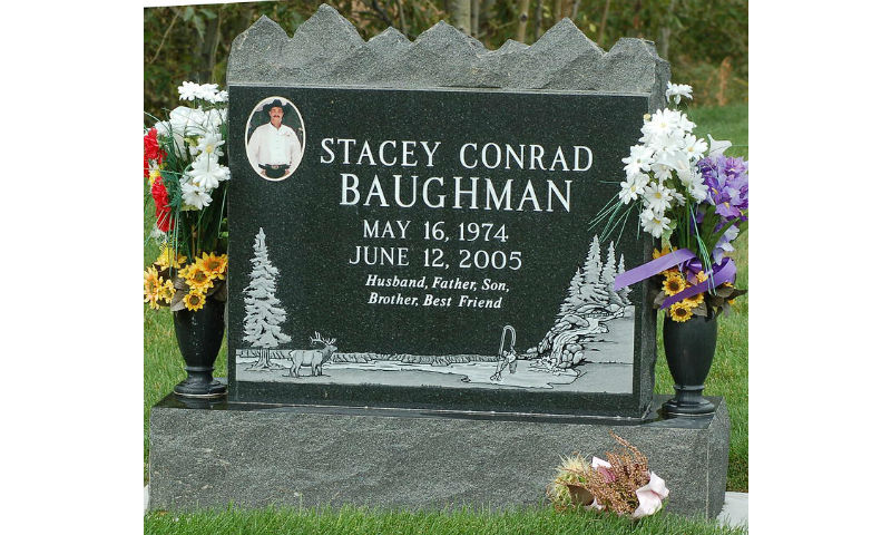 Custom Design Headstone Monument 1