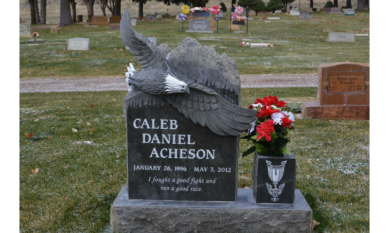 Custom Design Headstone Monument 4