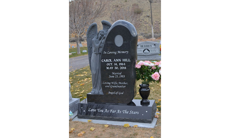 Custom Design Headstone Monument 5
