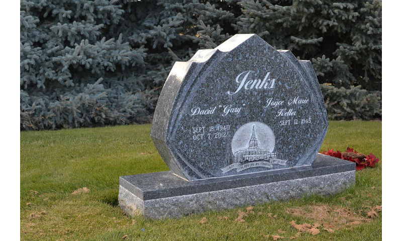 Custom Design Monument Headstone 6