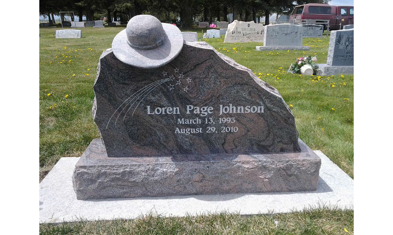 Custom Design Headstone Monument 7